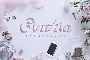 Cinthia Typography | -50%