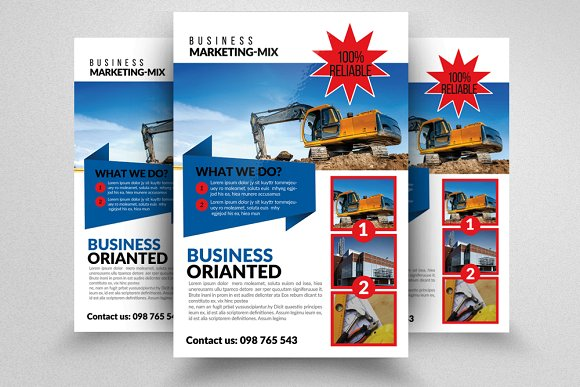 civil engineer architect flyer flyer templates creative market