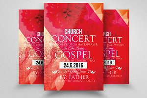 Jesus Church Concert Flyer