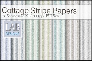 8 Seamless Striped Paper Textures