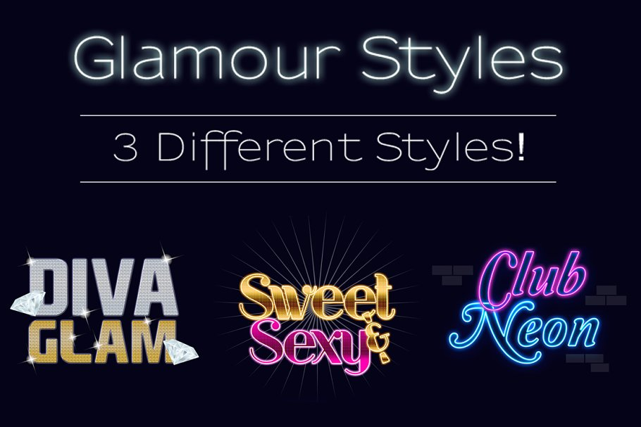 Glamour Styles Pack