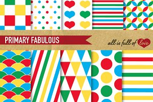 Printable Background Paper Pack
