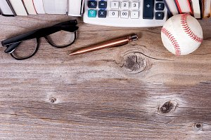 Business Objects Header on Wood