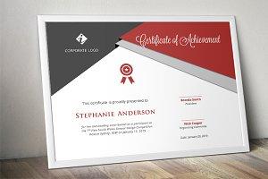 Script triangle certificate design