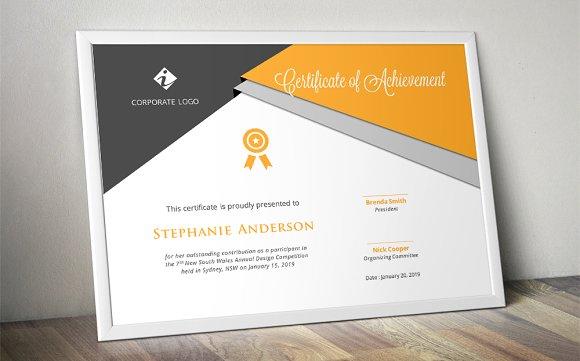 script triangle certificate design stationery templates creative