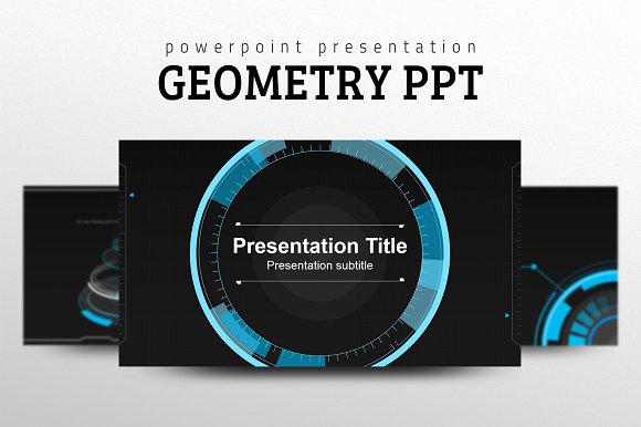 geometry ppt presentation templates creative market