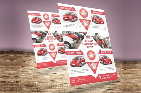 Car for Sale Flyer Flyer Templates Creative Market – Car Sale Flyer