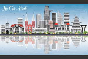 Ho Chi Minh Skyline