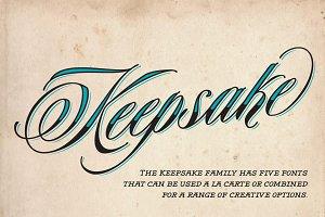Keepsake Script Family