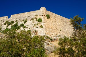 Fortress Fortezza in Rethymno, Crete