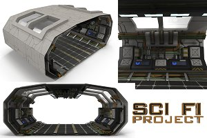 Sci Fi Corridor BIG