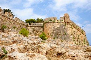 Citadel Fortezza in Rethymno, Crete