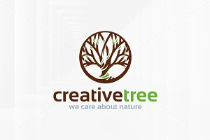 Creative Tree Logo Template v2