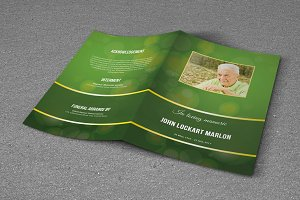 Funeral Program Template-T498