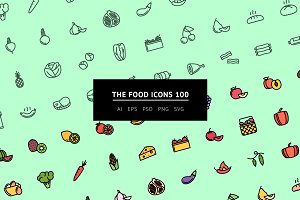 The Food Icons 100