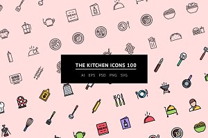 The Kitchen Icons 100
