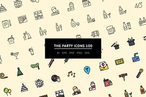 The Party Icons 100