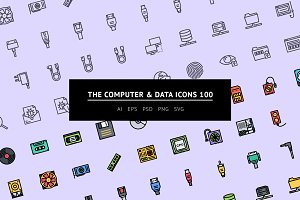 The Computer & Data Icons 100