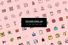 The Shop Icons 100