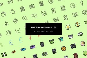 The Finance Icons 100