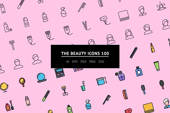 The Beauty Icons 100