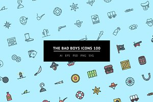 The Bad Boys Icons 100