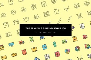 The Branding & Design Icons 100