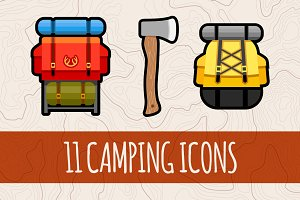 Camping Graphics & Icons