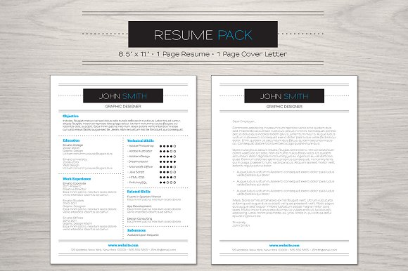 Elegant Resume Pack