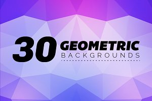 Geometric Backgrounds 30 - 1