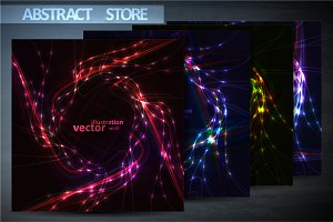 Abstract vectors eps10