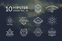 10 Hipster Logos Vol. 19