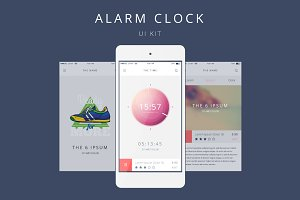 Vector Alarm Clock for Your Phone