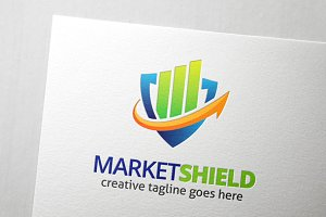 Market Shield Logo