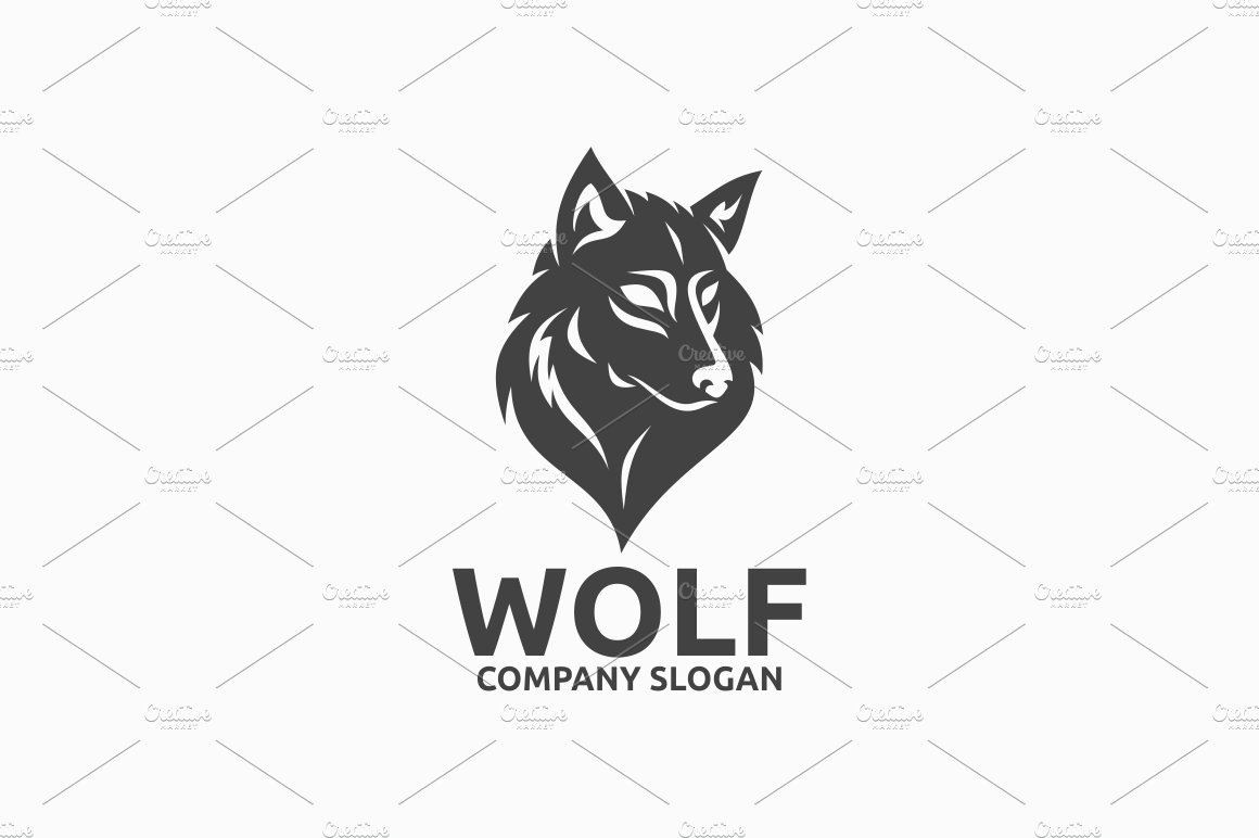 howling wolf logo photos graphics fonts themes templates