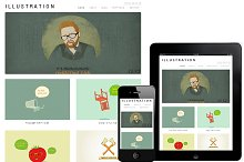 Illustration WordPress Responsive