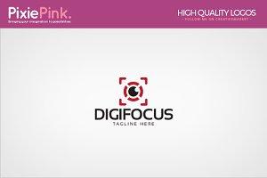 Digi Focus Logo Template