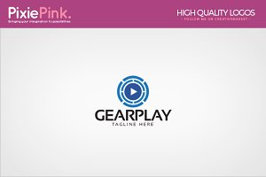 Gear Play Logo Template
