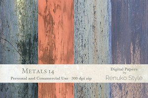 Metals 14 Digital textures