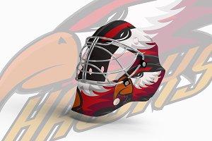 Set Professional sports logo hawks