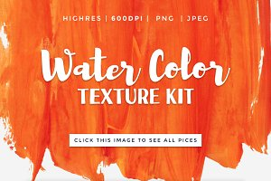 Water Color Texture Kit