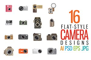 Flat-Style Cameras