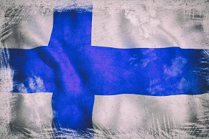 Old Finland flag