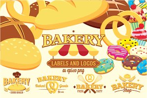 Bakery Labels and Logos +