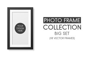 Photo frame collection.