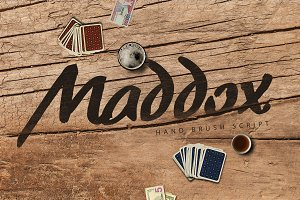 Maddox Brush Typeface