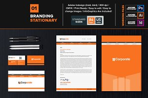 Professional Branding Stationary 01