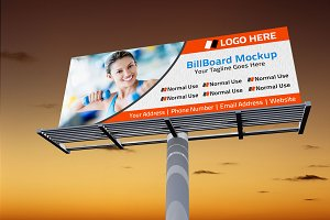 Billboard Mockup Template 01