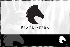 Black Zebra Logo Template