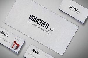 Gift Voucher Mock-Up Pack